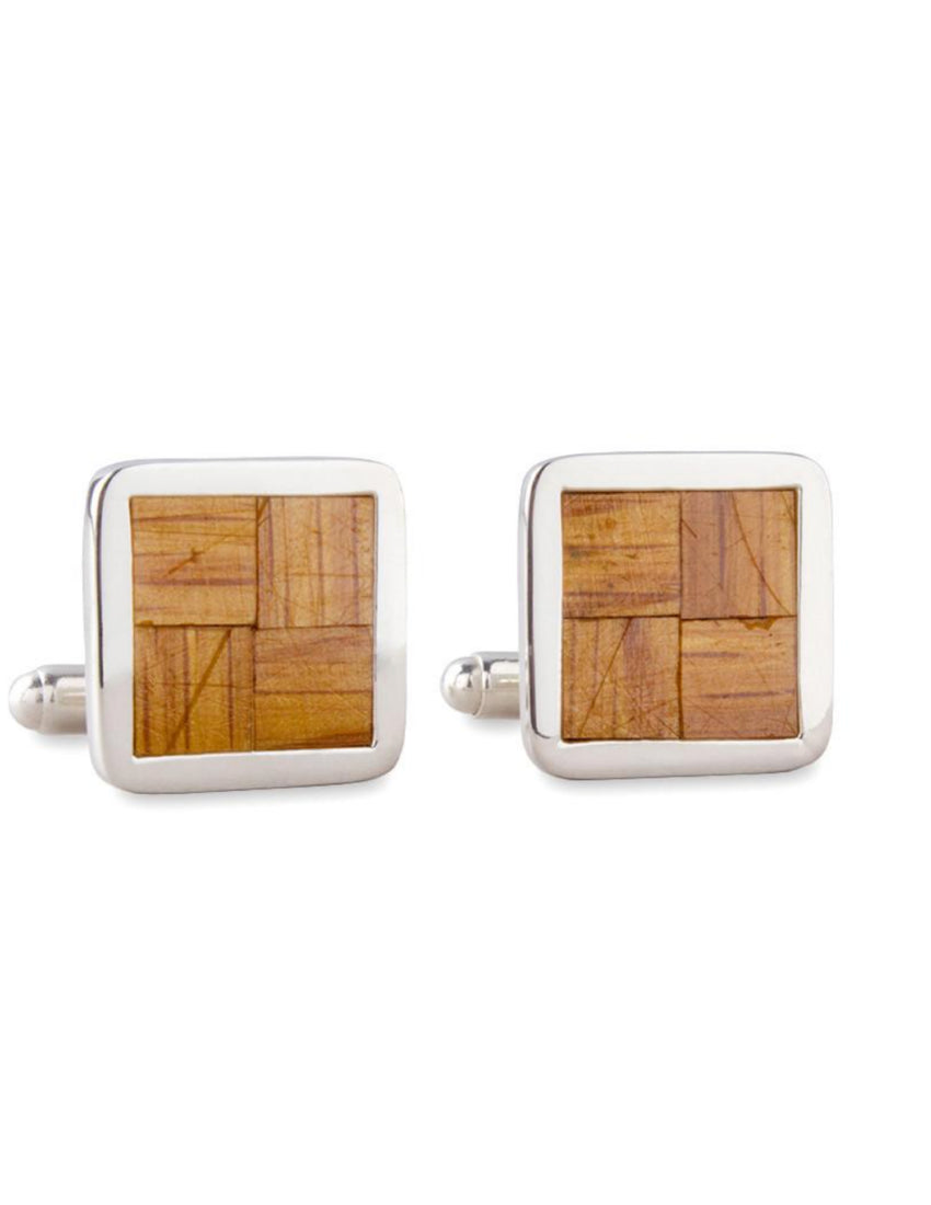 Boston Garden Parquet Floor Cufflinks