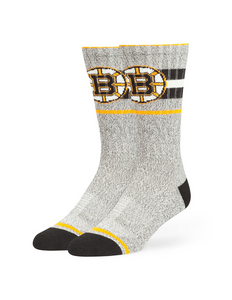 Boston Bruins Collins Fuse Crew Socks