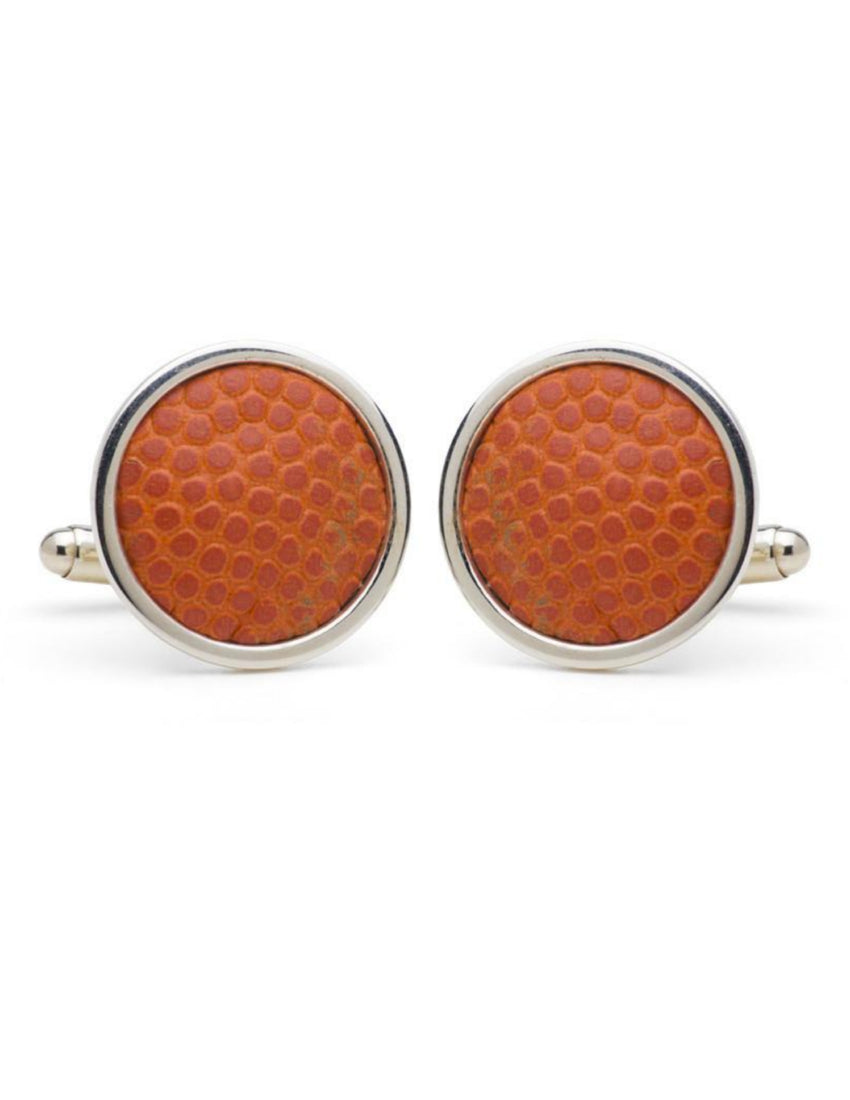 Madison Square Garden Game Used Basketball Cufflinks