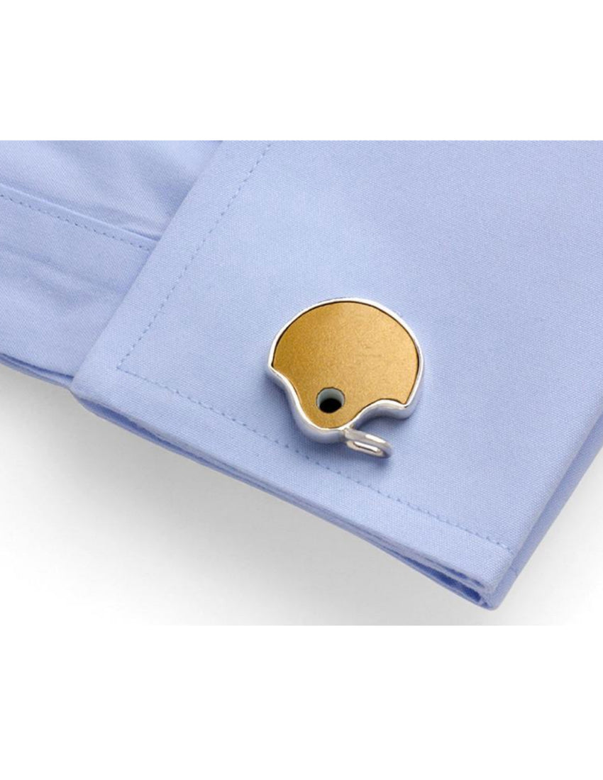 Notre Dame Game-Used Helmet Cufflinks