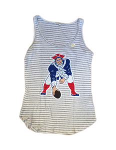 New England Patriots Sugar Grey Tank