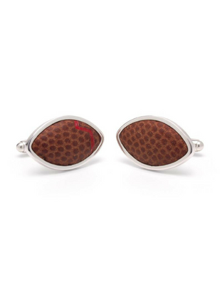 NFL Game-Used Football Cufflinks