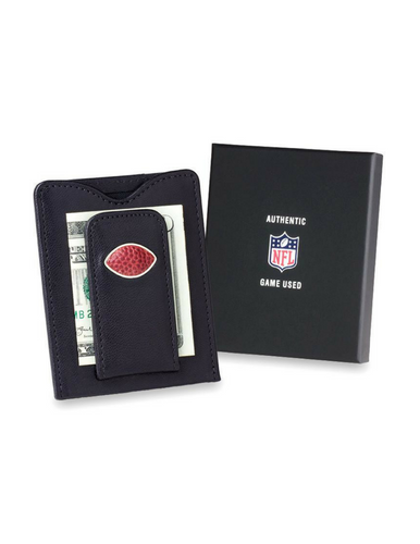 NFL Game-Used Football Money Clip