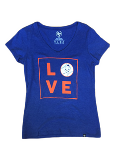 New York Mets Love Women's Tee