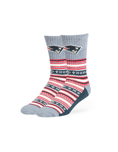New England Patriots Duster Socks