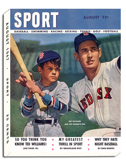 August 1947 SPORT Cover