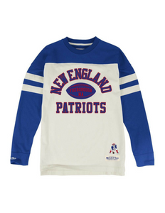 New England Patriots Swing Pass Long Sleeve