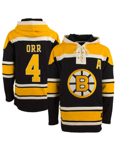 Boston Bruins Bobby Orr Lacer Hoodie