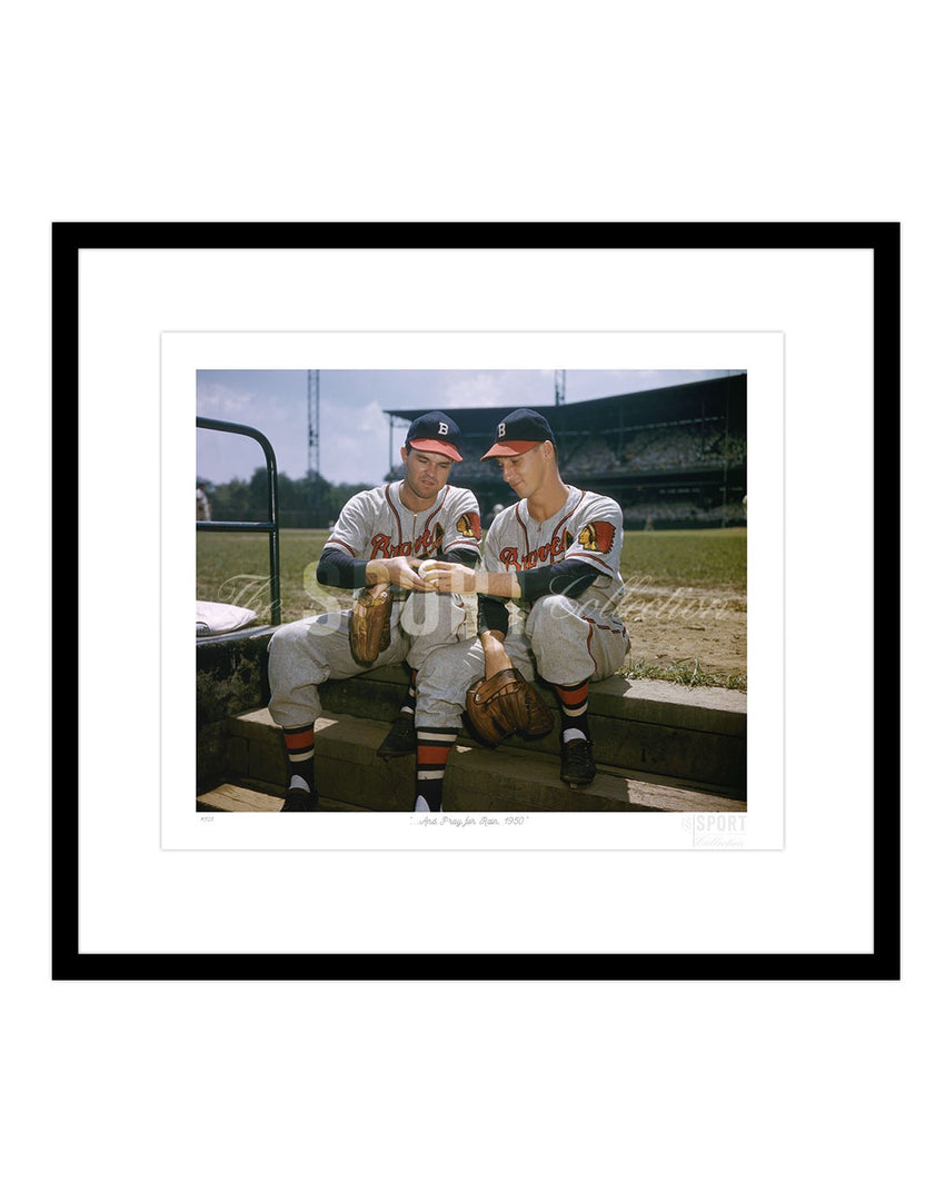 ...And Pray for Rain, 1950 (Johnny Sain and Warren Spahn)