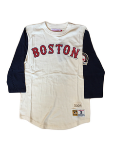 Boston Red Sox Wild Pitch 3/4 Sleeve Tee
