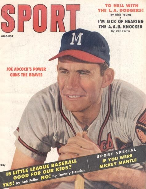 August 1957 Sport Cover