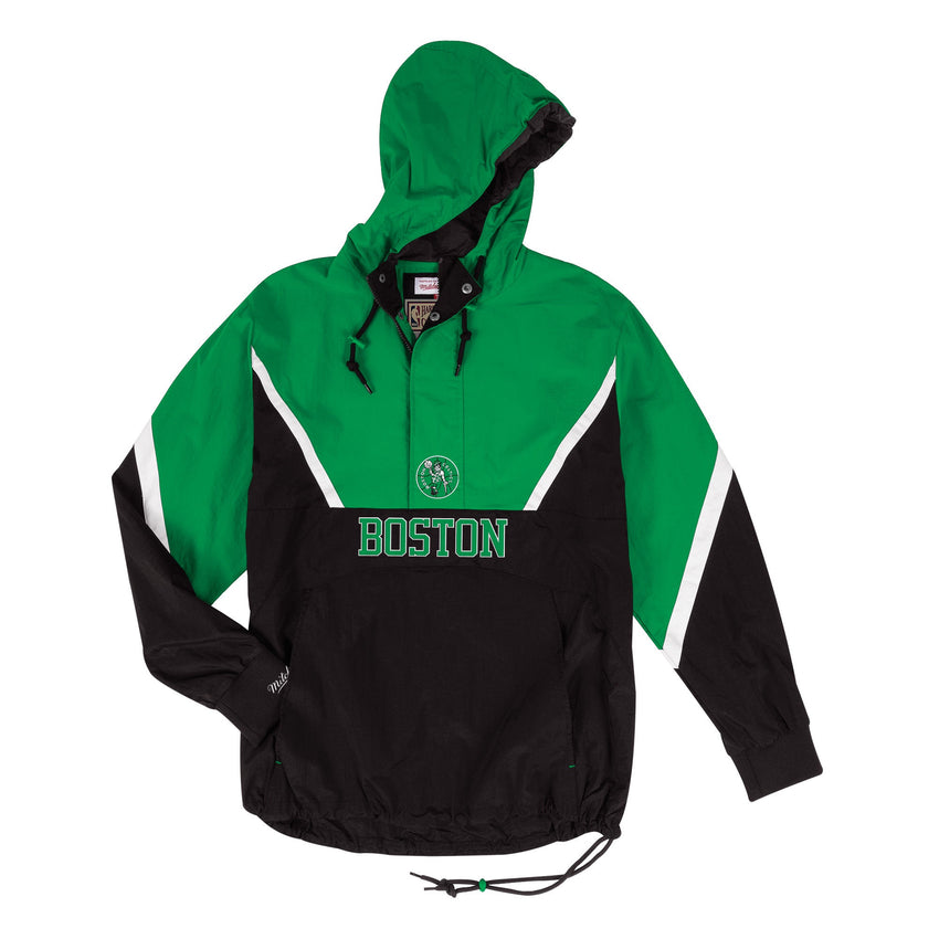 Boston Celtics Half Zip Anorak Jacket