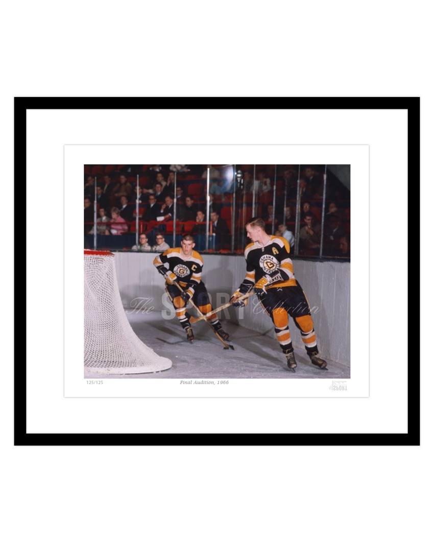 Final Audition, 1966 (Bobby Orr & Wayne Cashman)