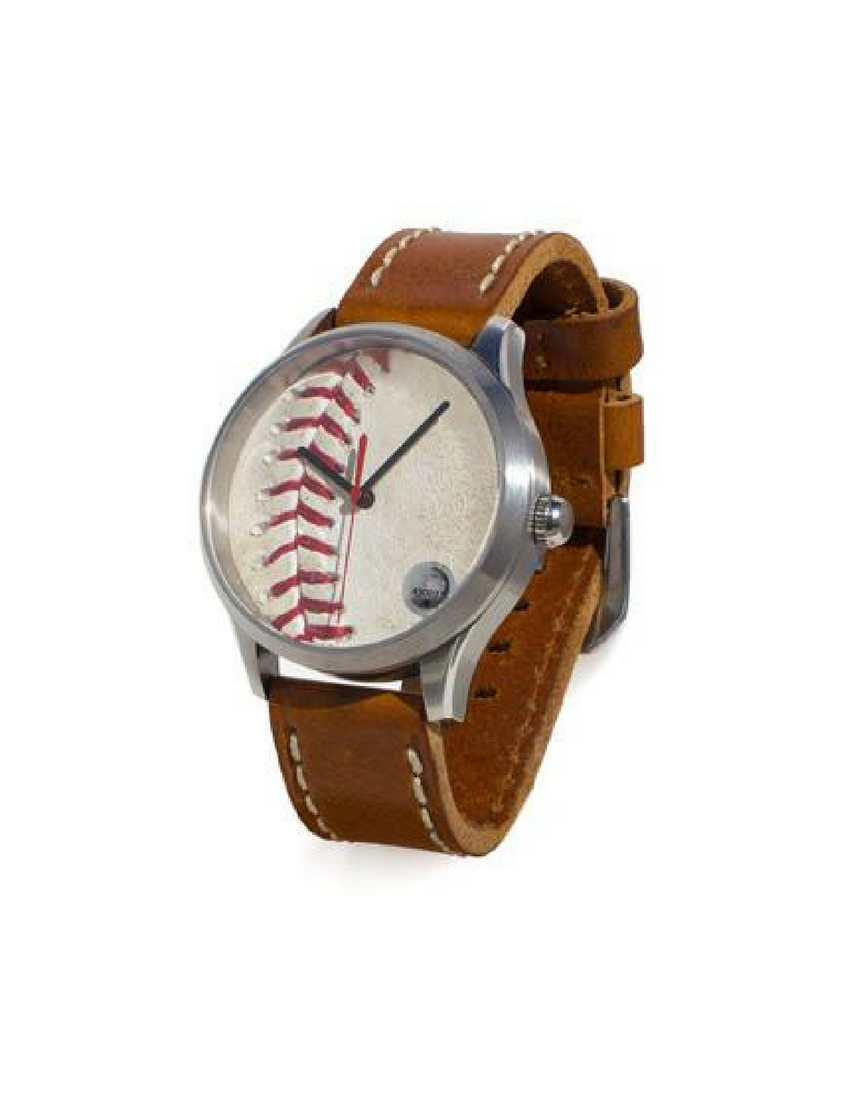 MLB Game-Used Baseball Watch