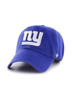 New York Giants Clean Up Hat (Royal Blue)