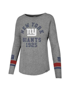 New York Giants Encore Heather Courtside Tee