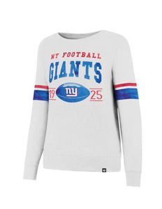 New York Giants Ultra Throwback Women's Crew Fleece