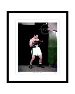 Shadow Boxing, 1954 (Rocky Marciano)