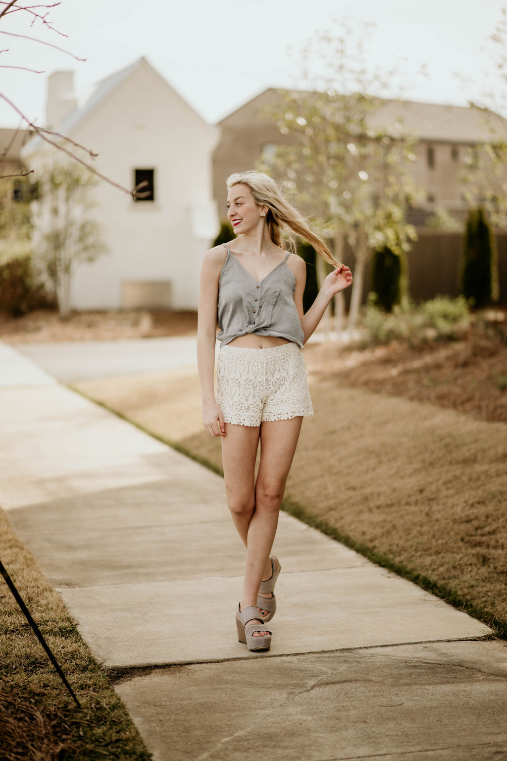 Crochet the Day Away Shorts