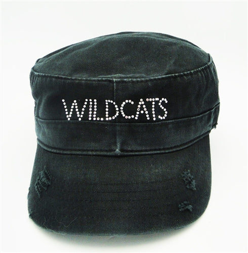 Black Wildcats Cadet Hat
