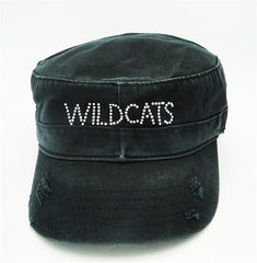 Wildcats Black Cadet Hat