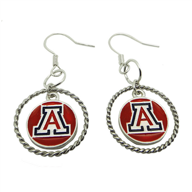 University of Arizona Earrings (Logo A) - University of Arizona  Jewelry