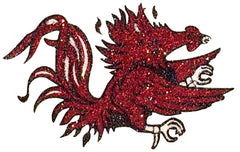 South Carolina Gamecocks Glitter Tattoo