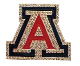 University of Arizona Crystal Enamel Pin