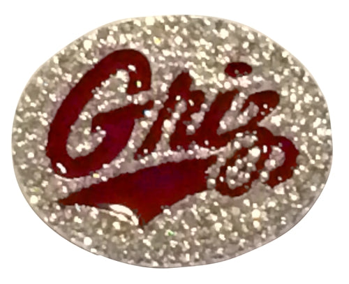 University of Montana Griz Rhinestone Pin