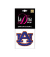 Auburn TIgers UA Glitter Tattoo Single