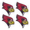 Illinois State Redbirds Glitter Tattoo 4-pack - LaDivaSport
