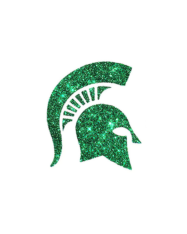 Michigan State Spartans Glitter Tattoo 2-pack