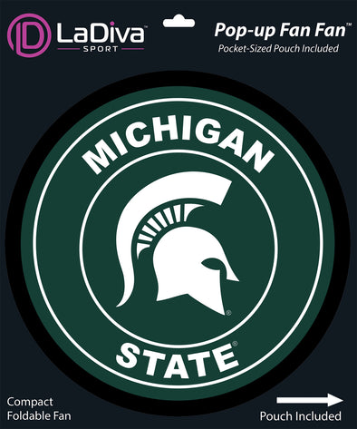 Michigan State Spartan Cheer Fan