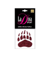 Montana Grizzlies Paw Print Glitter Tattoo Single Bag - LaDivaSport