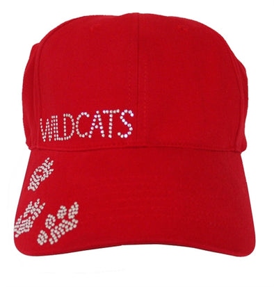Red Wildcats Baseball Hat