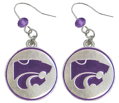 Kansas State University Earrings