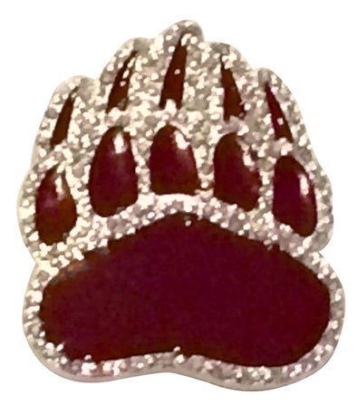 University of Montana Grizzly Paw Pin
