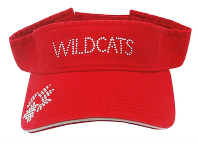 Red Wildcats Visor