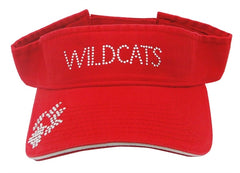 Wildcats Red Visor