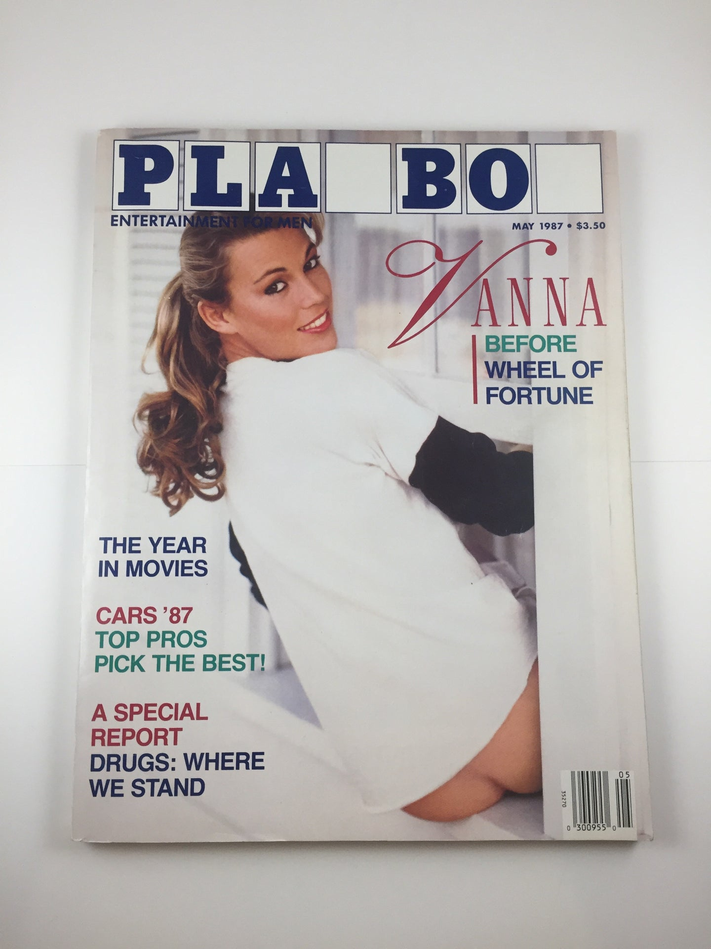 Vintage Playboy Magazine May 1987