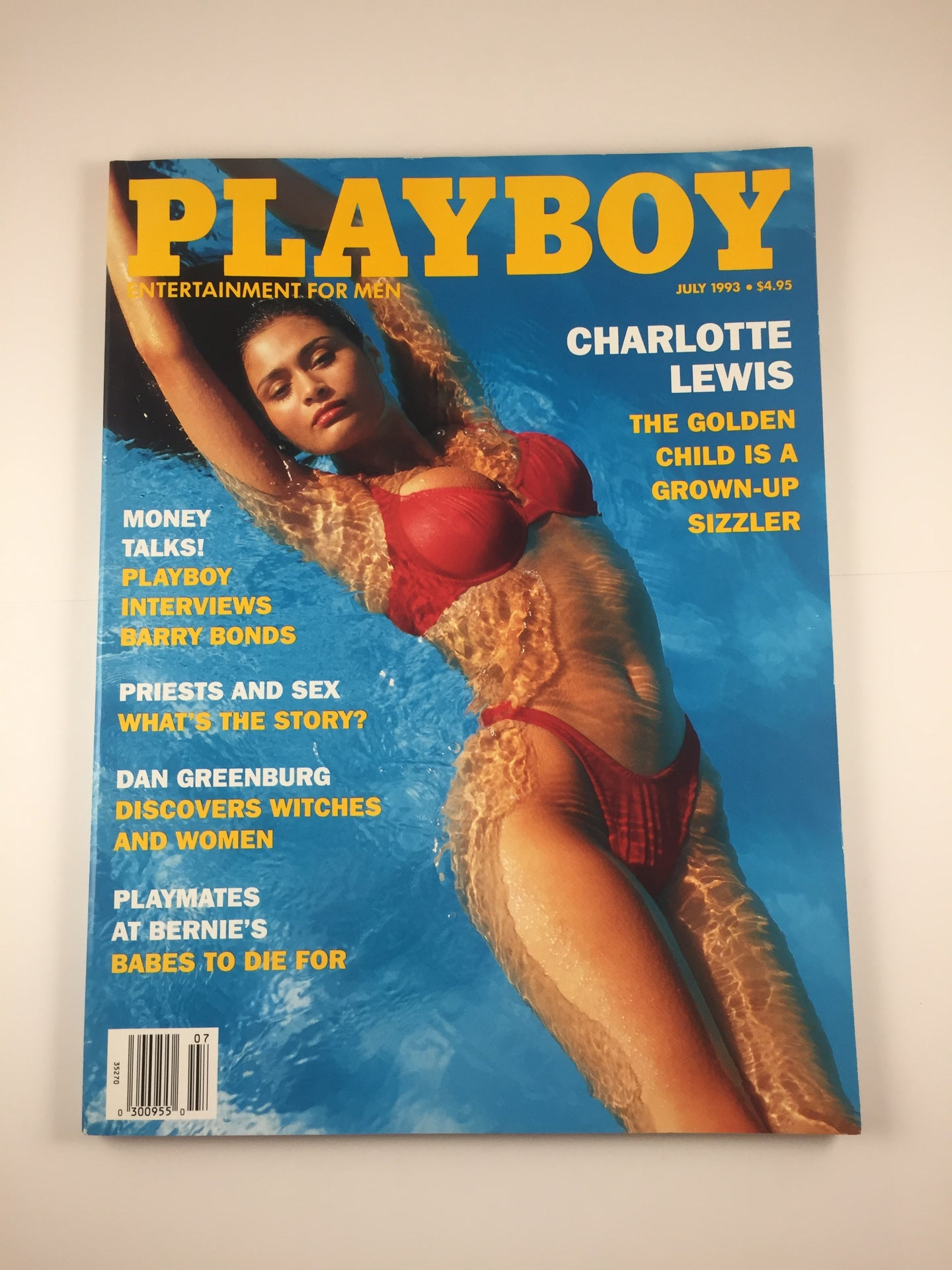 Vintage Playboy Magazine July 1993