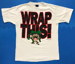 "Vintage Taz ""Wrap This"" T-Shirt"