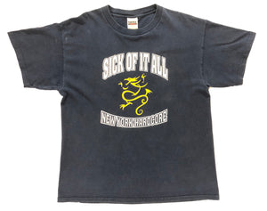 "Vintage Sick of it All ""New York Hardcore"" T-Shirt"