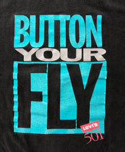 "Vintage Levi's ""Button Your Fly"" T-Shirt"
