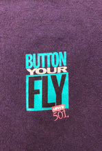 "Vintage Levi's ""Button Your Fly"" Long Sleeve"