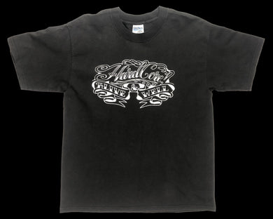 Vintage Alive and Well Hardcore Festival T-Shirt