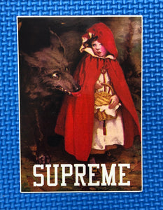 Supreme FW/12 Little Red Riding Hood Sticker