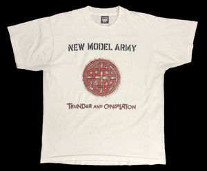 "Vintage New Model Army ""Thunder and Consolation"" Tour T-Shirt"