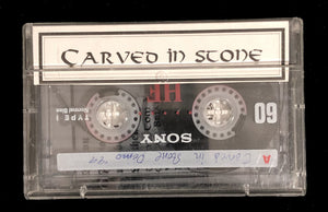 Vintage Carved In Stone Demo Tape