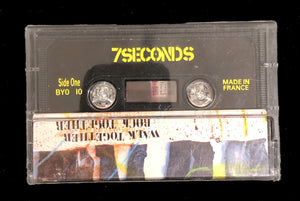 "7 Seconds ""Walk Together, Rock Together"" Cassette Tape"